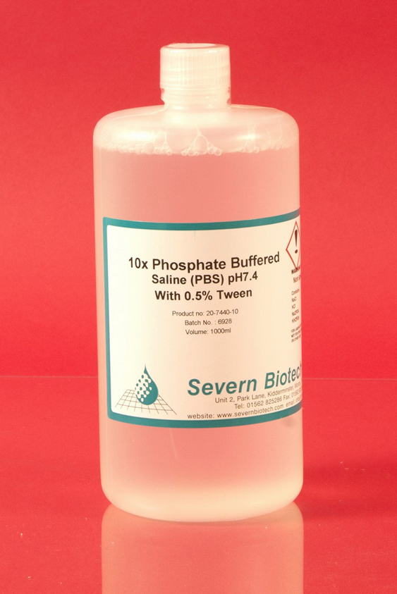 Phosphate Buffered Saline (PBS) 10x Concentrate pH 7.0