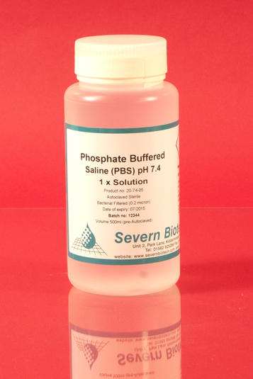 Phosphate Buffered Saline (PBS) 1 x pH 7.4