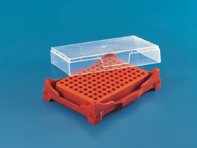 PCR Rack with Cover