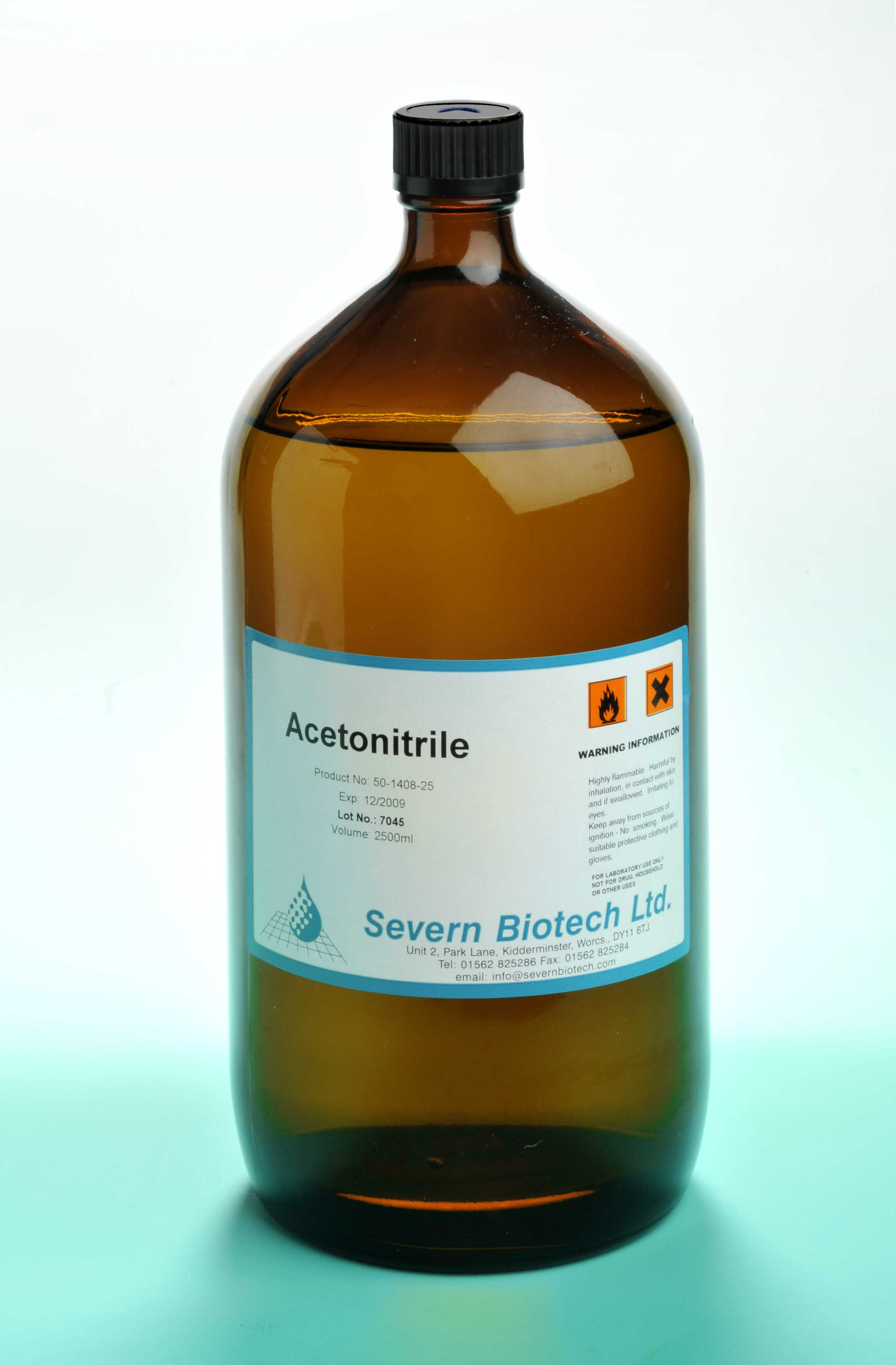 Acetonitrile - Click Image to Close